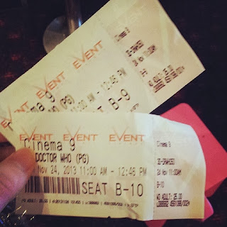 tickets, 50th anniversary, doctor who, the day of the doctor