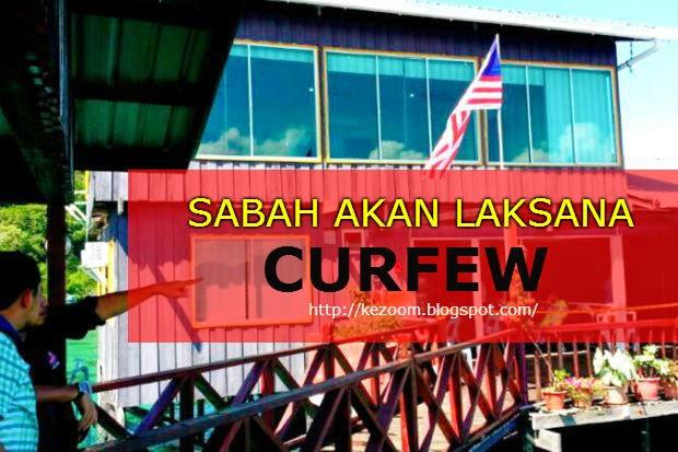 Perintah Berkurung Akan Di Laksana Di Sabah