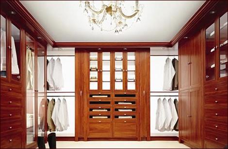 Dise o closets para dormitorios decorar tu habitaci n for Closet de madera para dormitorios