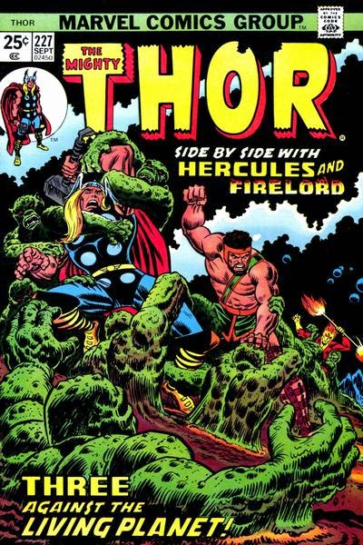 Thor #227, Hercules and Firelord