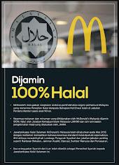 McDonald's 100% Halal