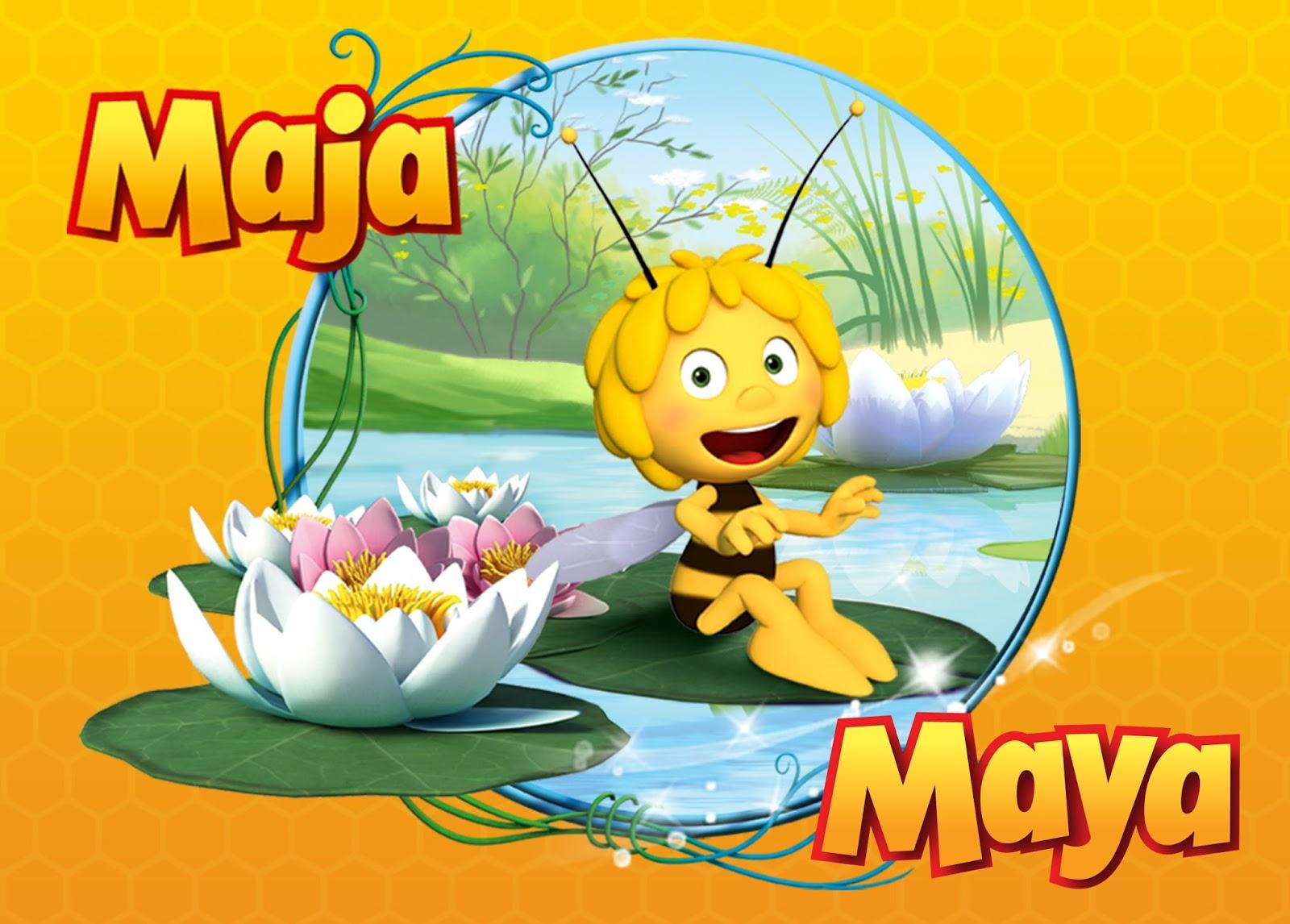 Maya de Bij is een nieuwsgierige en zeer populaire bij. Samen met haar ...