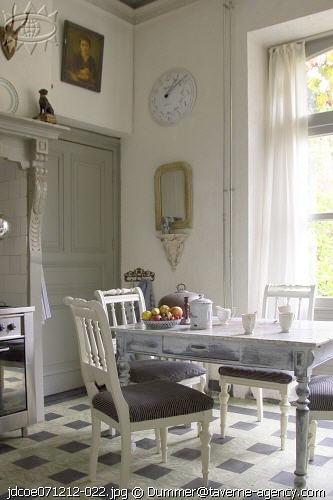 Shabby chic con amore casa shabby chic la cucina for Tavolini bianchi