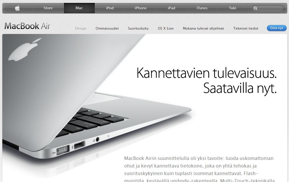 Mac tietokone kokemuksia