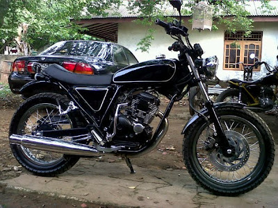 Yamaha Scorpio 2004 Modifikasi Japanese style | MODIFIKASI MOTOR
