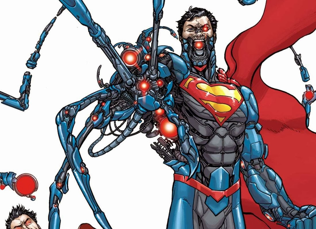 Origen del SUPERMAN CYBORG | Comicrítico