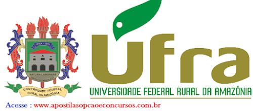 Apostila Concurso UFRA 2016 - Técnico-Administrativo