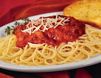 ستّة أغذية الأكثر زيادة للوزن  Spaghetti_with_meat_sauce