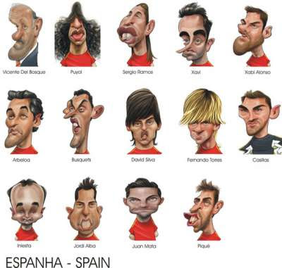 Karikatur Seniman Galvao Untuk Euro 2012
