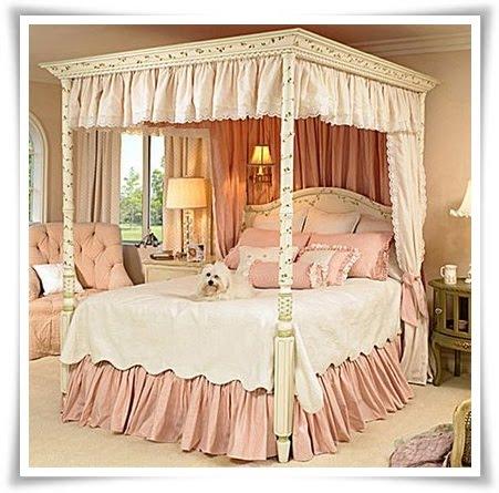 Geek e make cute decor cama de princesa - Camas de princesas para nina ...