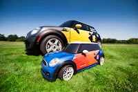 "The 2012 London Olympics Mini MINI ""Go-Fer"" Electric R/C Car"