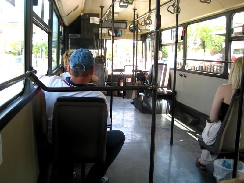 Gradski prevoz (klimatizovan) na Kritu.