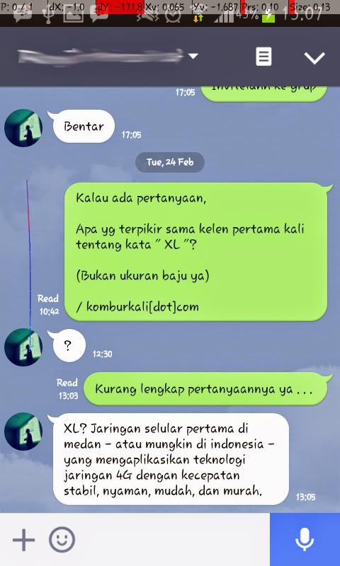 XL 4G di Medan