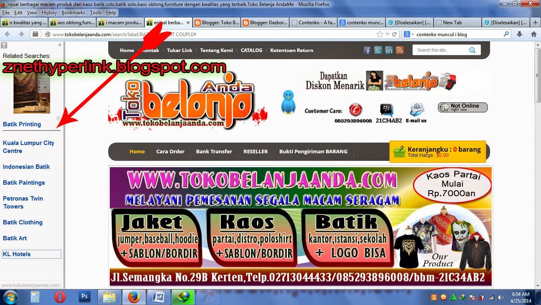 CARA MENGHILANKAN LINK WWW.CONTENCO.COM  DI BLOGSPOT ATAU WEBSITE