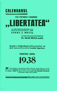 CALENDARUL LIBERTATEA - 1938 - Diverse imagini