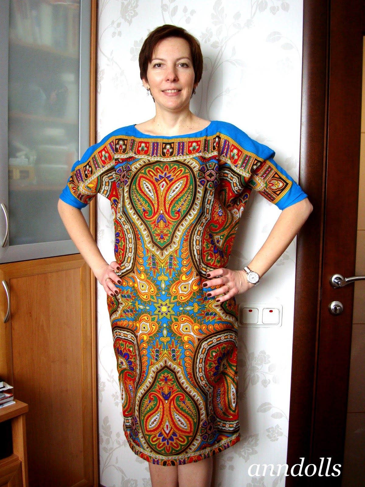 Платья сшитые из купонной ткани фото 994