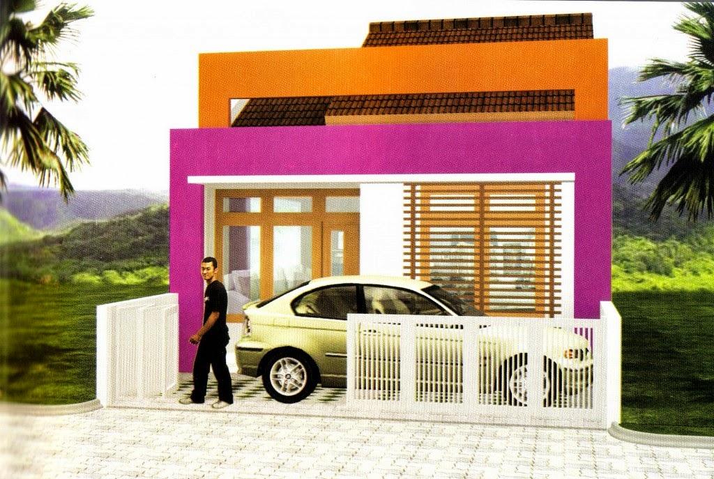 Desain Rumah Mungil Minimalis 1 Lantai