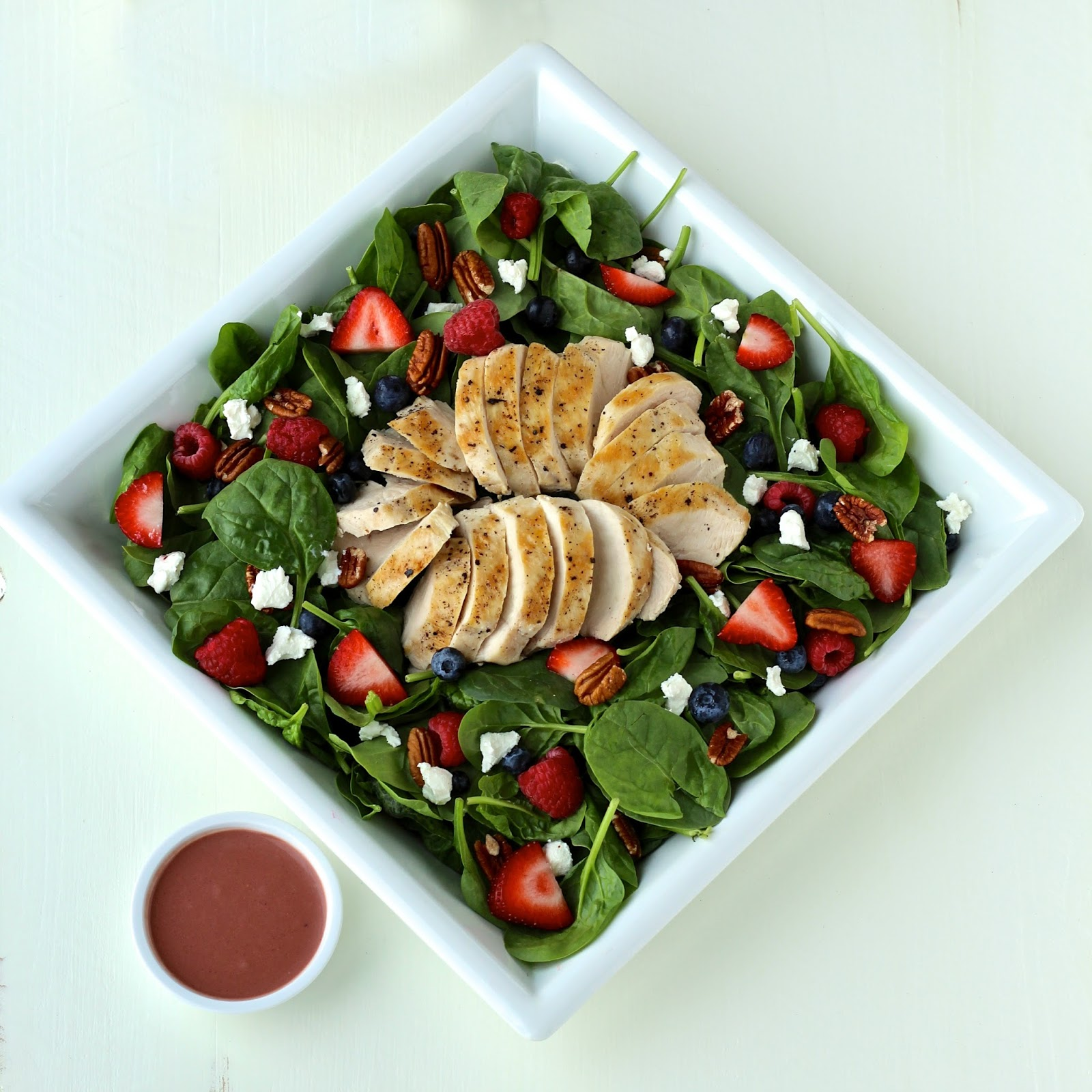 Dining with the Doc: Summer Spinach Salad with Grilled ...