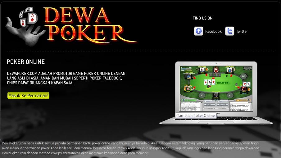 Situs dewa poker online