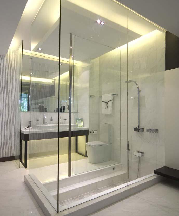 kamar mandi kontemporer desain kamar mandi
