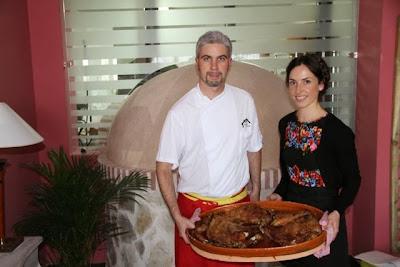 Víctor Carranza y Sara Sardón. blog Esteban Capdevila