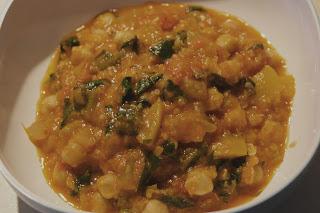 Kikkererwten curry