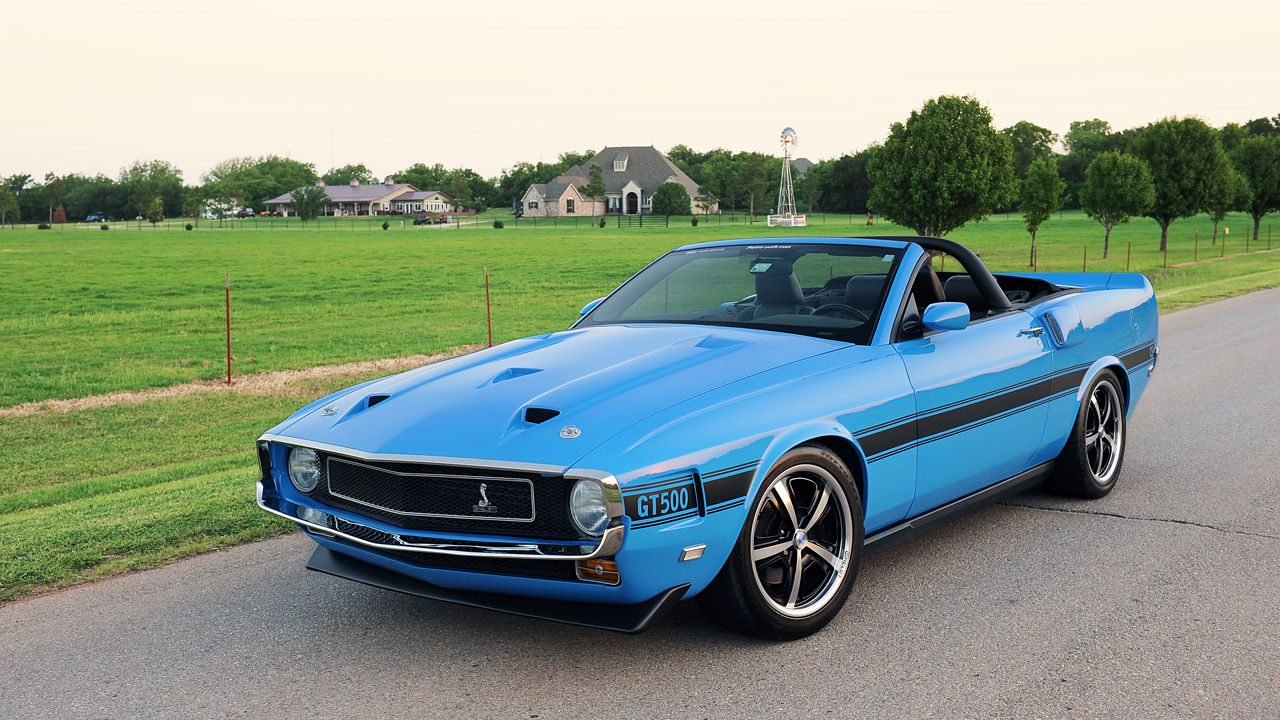 1969 Retrobuilt Ford Mustang Shelby Gt 500 Cs Convertible