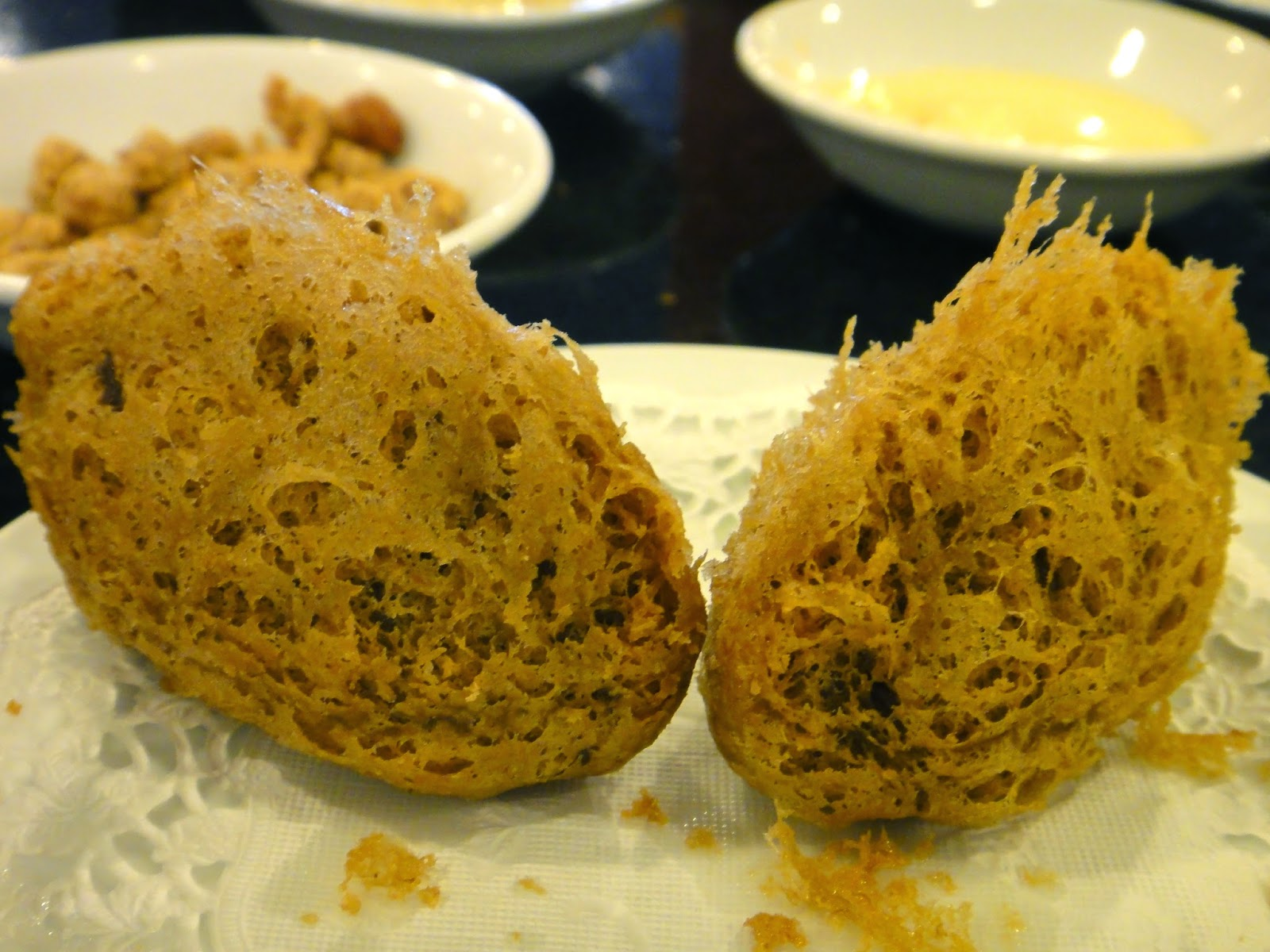 Deep fried yam ball may star restaurant central park mall
