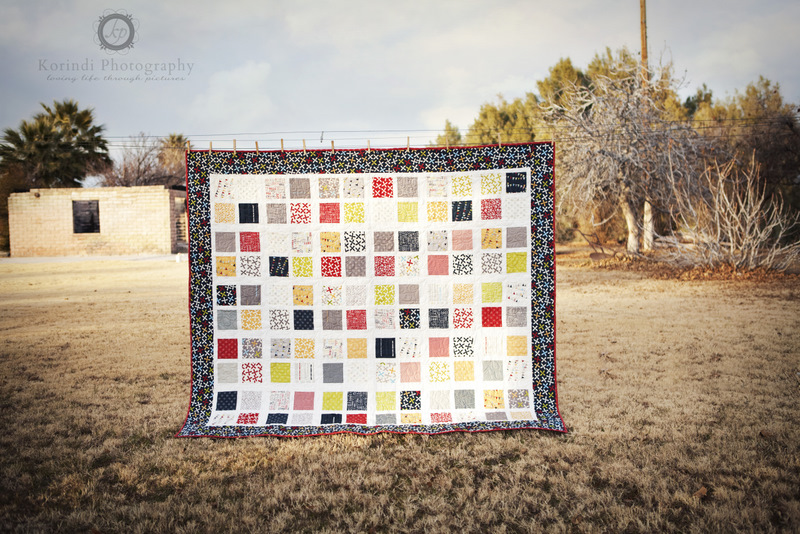 Four Square Layer Cake Quilt   Moda Bake Shop