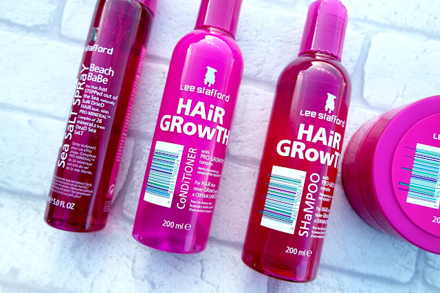 Lee Stafford Hair Growth Range Review Ami Rose