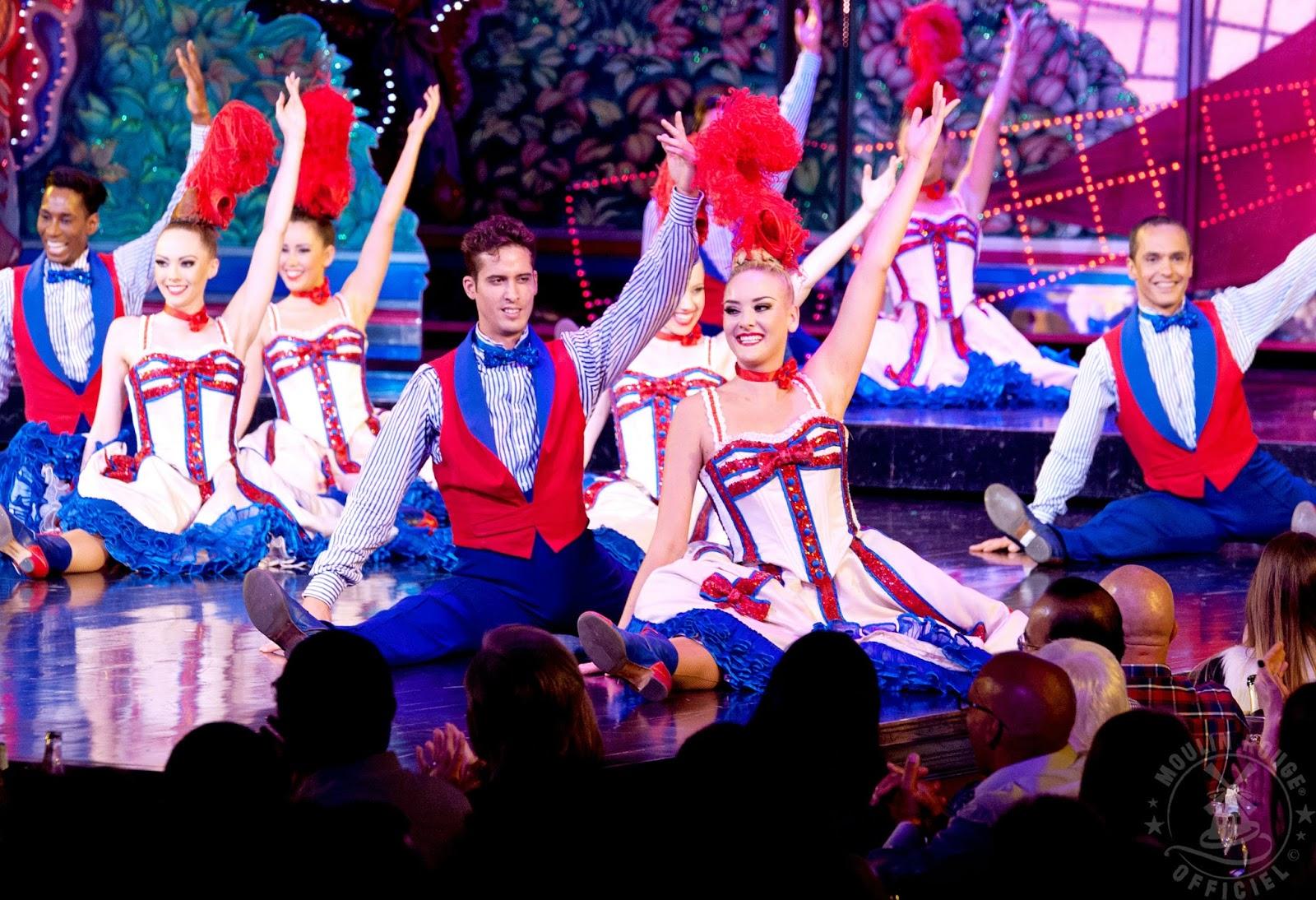 Una experiencia inolvidable en par s el moulin rouge la for Show a paris