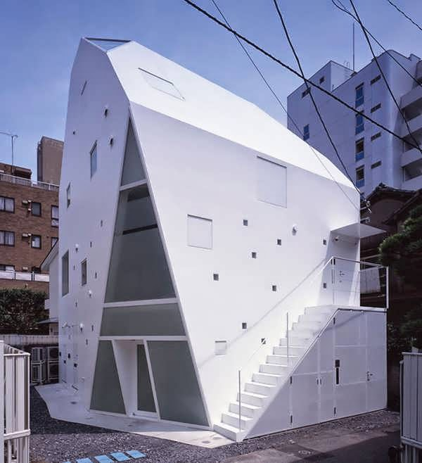 112) Tokyo Unusual House Design Plan Takes Modern Minimalist to The ...