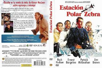 Carátula dvd: Estación Polar Cebra (1968) (Ice Station Zebra)