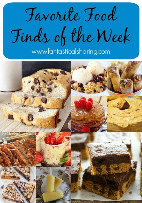 Fantastical Friday: Favorite Food Finds of the Week #collage #roundup #collection #food #recipe