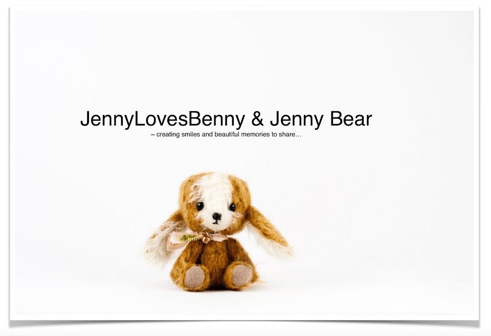 JennyLovesBenny and Jenny Bear ~