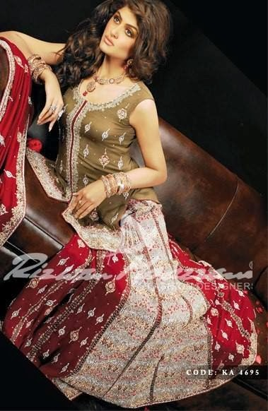 Rizwan Moazzam Bridal Collection 2014