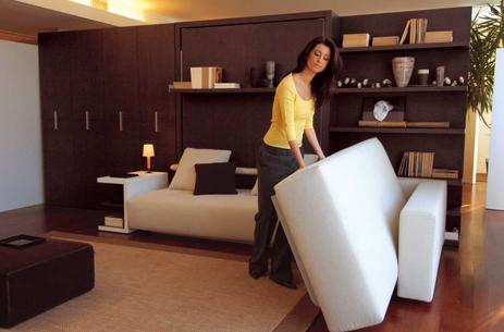 Una de las imnumerables opciones tan original y nicas que for Amueblar pisos pequenos