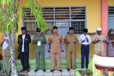Kakankemenag Tanjungbalai Monitoring UN di MTsN Tanjungbalai