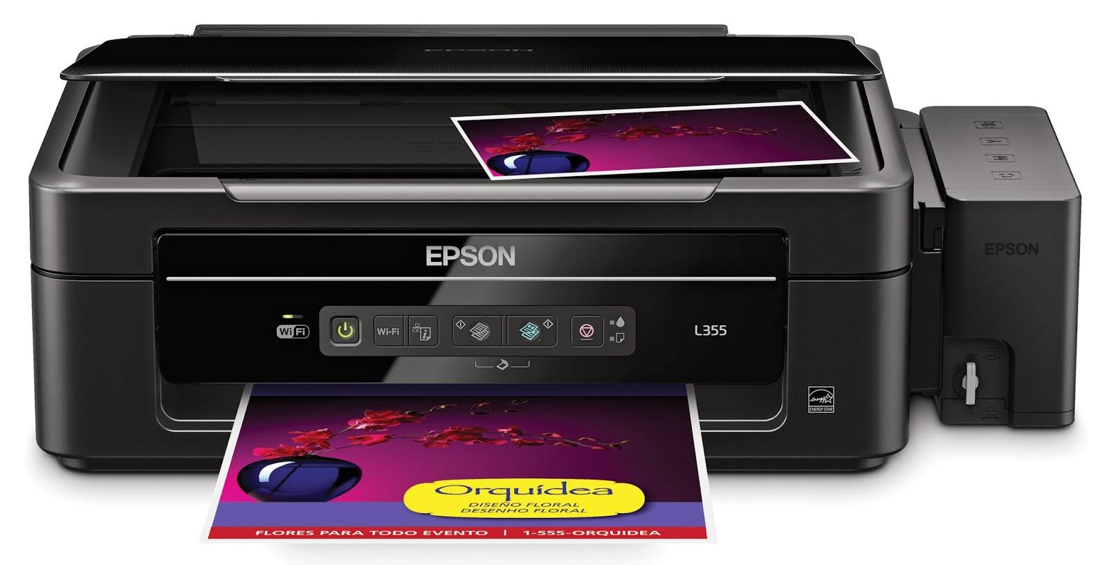 Como hacer copias negras y a color en impresoras Epson L355 | es ...