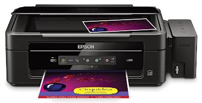 impresora epson l355 con tanques de tinta