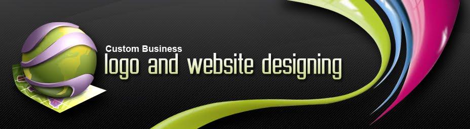 custom business logo design and website designing blog USA