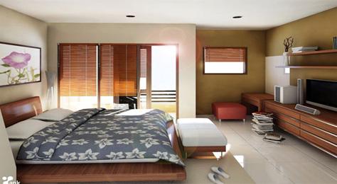 rumah minimalis modern 2013 desain interior kamar