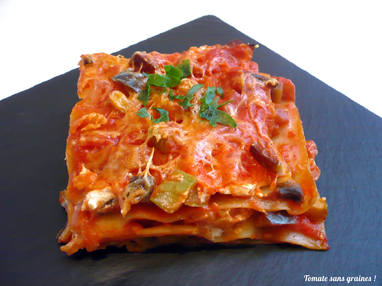 tomate sans graines green lifestyle les lasagnes ratatouille. Black Bedroom Furniture Sets. Home Design Ideas
