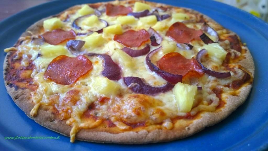 Pizzat tortillapohjiin