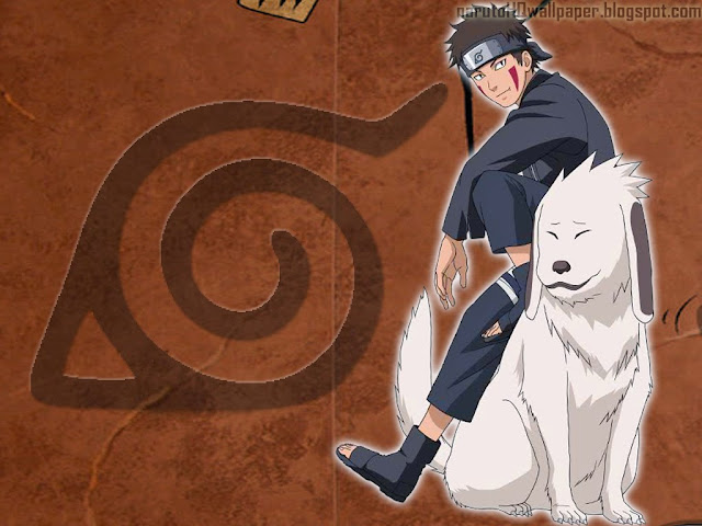 Kiba using the Shadow Clone Technique