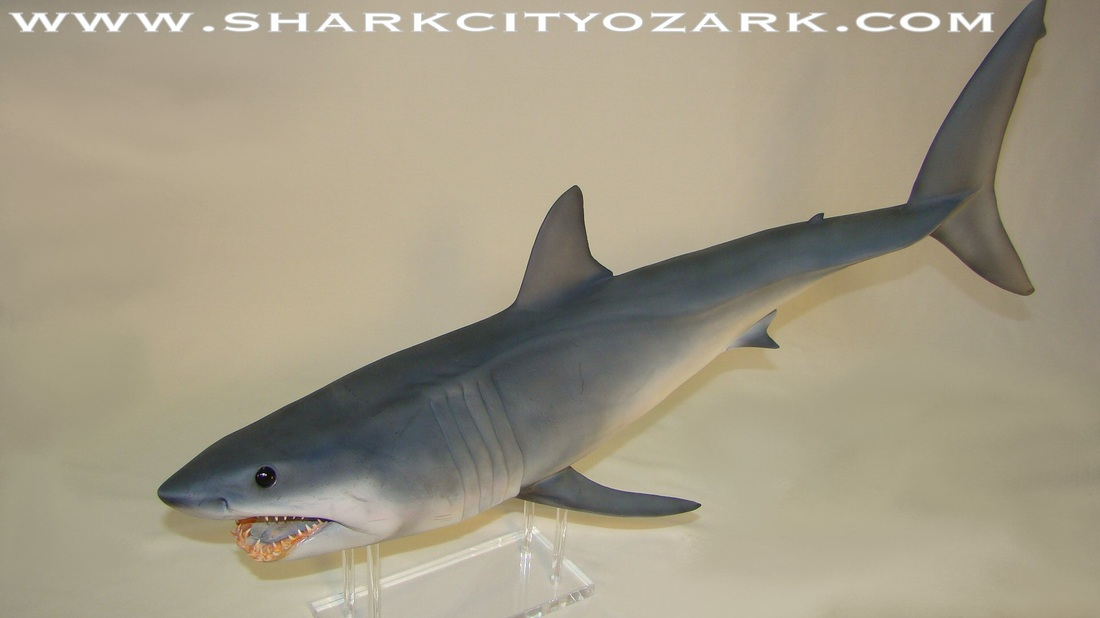 Mako Shark Toys : An interview with jaws maquette sculptor mike schultz
