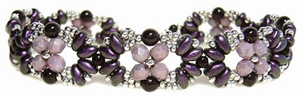 Eclipse Bracelet pattern at AroundTheBeadingTable.com
