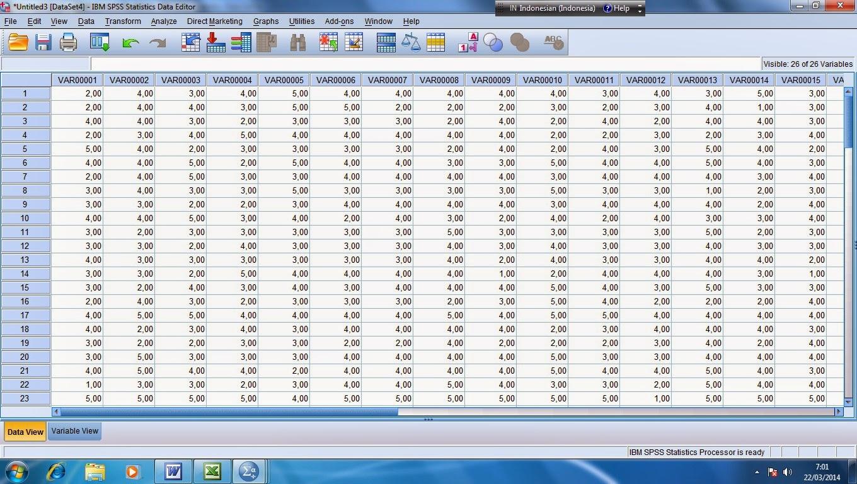 Langkah-langkah Uji Validitas dan Reliabilitas dengan SPSS ...