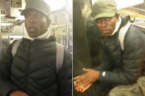 Machete-wielding man attacks a woman on a Brooklyn subway train