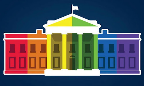 'Love is love': Obama lauds gay marriage activists in hailing 'a victory for America'